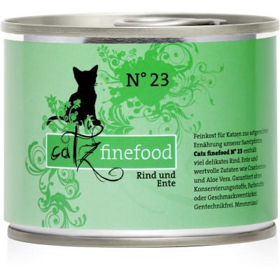 PN Catz No.23 Rind+Ente  200gD