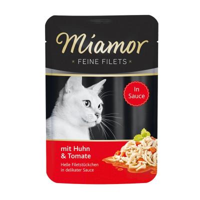Miamor Filet Huhn+Tomate 100gP