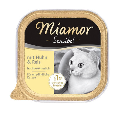 Miamor Sensi. Huhn+Reis  100gS