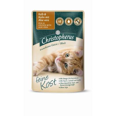 Christ.Katze Kalb+Huhn    85gP