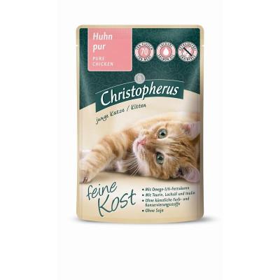 Christ.Katze Kitten Huhn  85gP