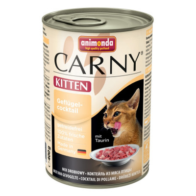 Carny Kitten Rind+Geflüg 400gD