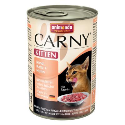 Carny Kitten Rind+Kalb+H.400gD