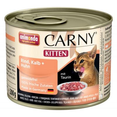 Carny Kitten Rind+Kalb+H.200gD