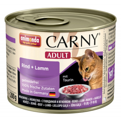 Carny Adult Rind+Lamm    200gD