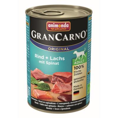 GranCarno Ri-Lachs-Spinat400gD
