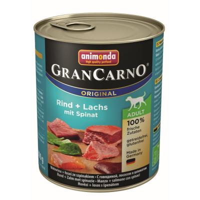 GranCarno Ri-Lachs-Spinat800gD