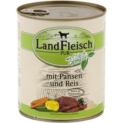 Landfleisch Pansen-Reis  800gD