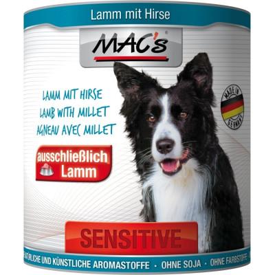 Macs Dog Sens.Lamm-Hirse 800gD