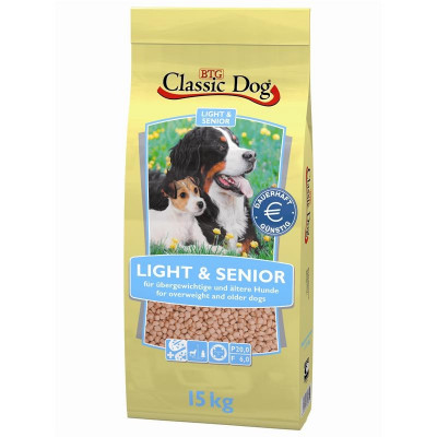 Classic Dog Light-Senior 15 kg
