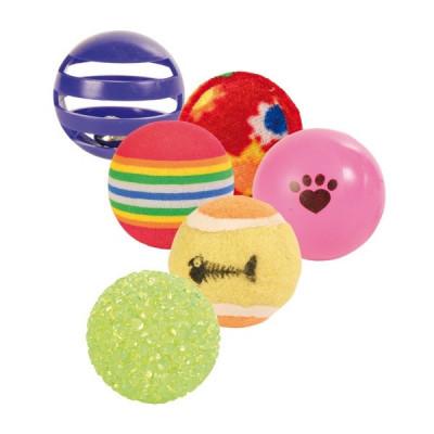 Trixie 6er Set Spielbälle
