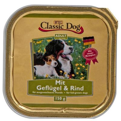 Classic Dog Geflügel-Rind150gS