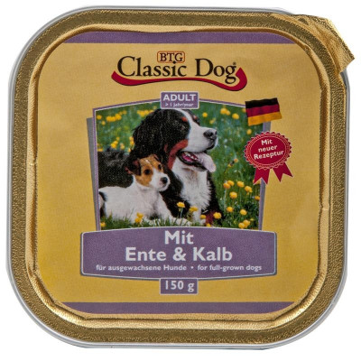 Classic Dog Ente-Kalb   150g S