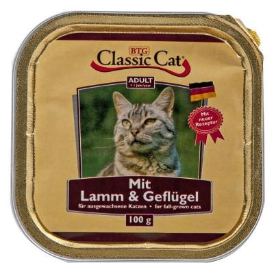 Classic Cat Lamm-Geflügel100gS