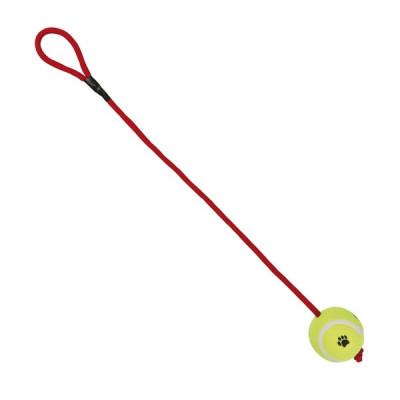 Trixie Tennisball am Seil -...