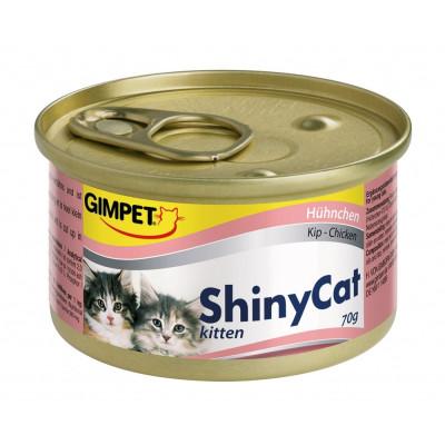 Gimpet ShinyCat Kitt Hühn 70gD