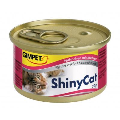 Gimpet ShinyCat Hühn+Krebs70gD