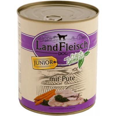 Landfleisch Junior Pute  800gD
