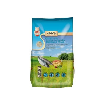 Macs Cat Adult Lachs+For. 300g