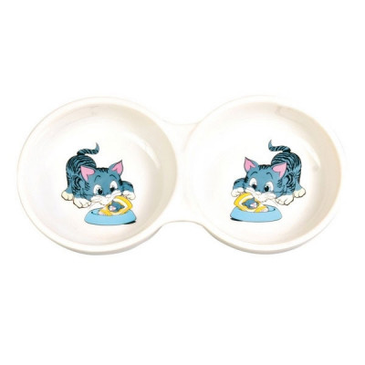 Trixie Keramik-Doppelnapf...