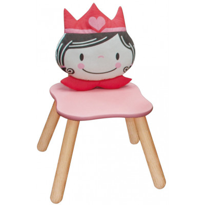 Kinderstuhl Prinzessin pastell