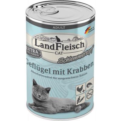 LaFl.Cat Topf Gefl+Krabb.400gD