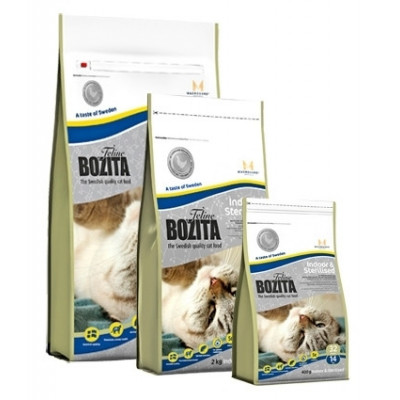 Boz.Cat Indoor+Sterilised 10kg