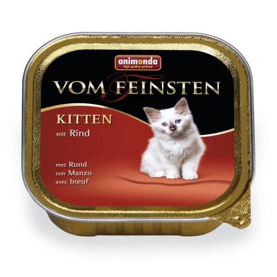 V.F.Kitten mit Rind    100 g S