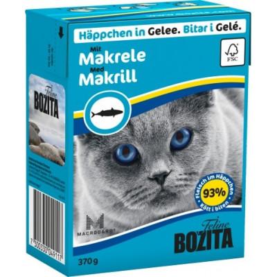 BZ Cat Häpp.Gel.Makrele  370gT