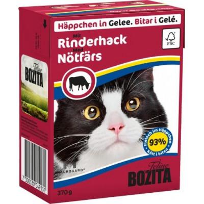 BZ Cat Häpp.Gel.Rinderh. 370gT