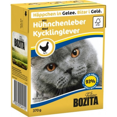BZ Cat Häpp.Gel.Hühnerleb370gT