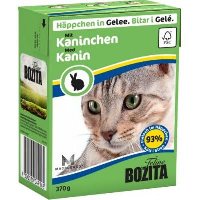 BZ Cat Häpp.Gel.Kaninchen370gT