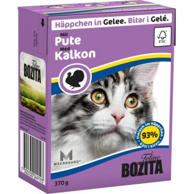 BZ Cat Häpp.Gel.Pute     370gT