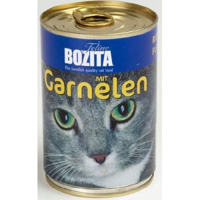 Bozita Cat mit Garnelen  410gD
