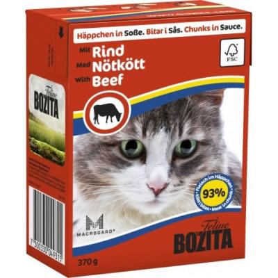 BZ Cat Häpp.Soße Rind    370gT