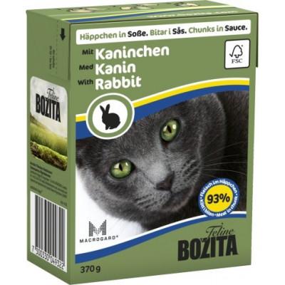 BZ Cat Häpp.Soße Kaninch.370gT