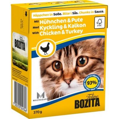 BZ Cat Häp.Soße Huhn-Pute370gT