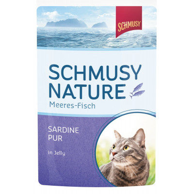 Schmu.Nat.Fisch Sardine  100gP