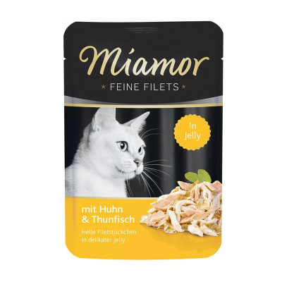 Miamor Filet Huhn-Thun   100gP