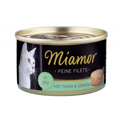 Miamor Filet Thun-Gemüse 100gD